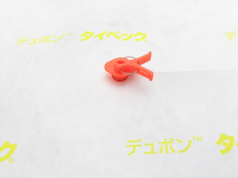 カサジゾウ(オレンジ)×タイベック傘(パンチ穴)100セット