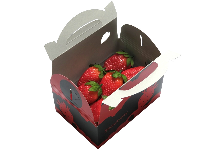 イチゴ 手さげ箱 1パックキャリー 200枚/箱