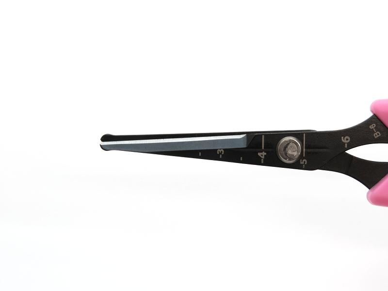 サボテン 先丸 フッ素 コート ぶどう鋏 B-6 簡易包装