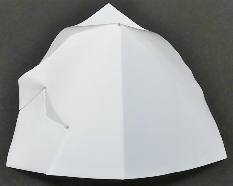 ポリ傘 22×22 サシコミ乳白(100枚)