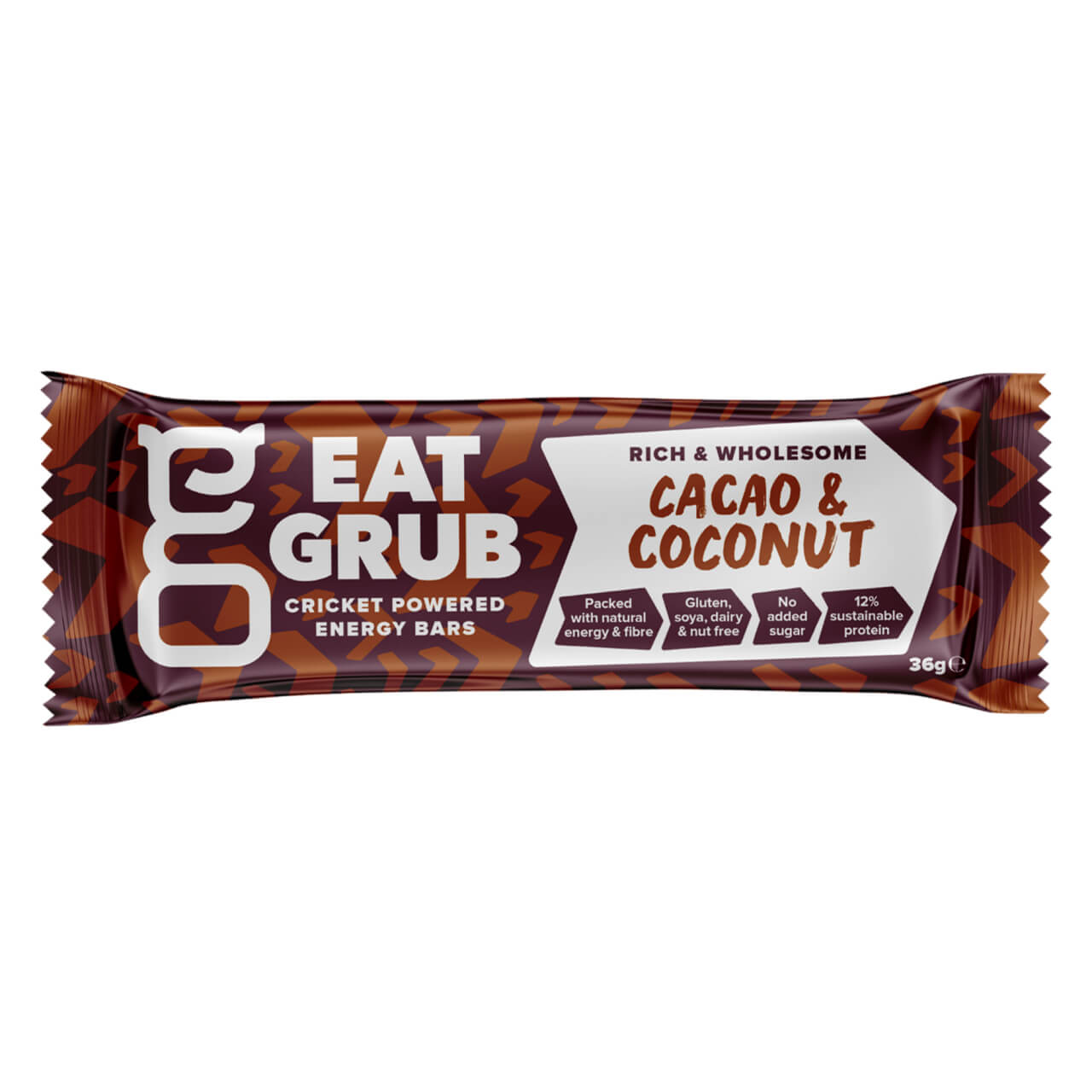 Eat Grub bar カカオ&ココナッツ 1ケース12本入