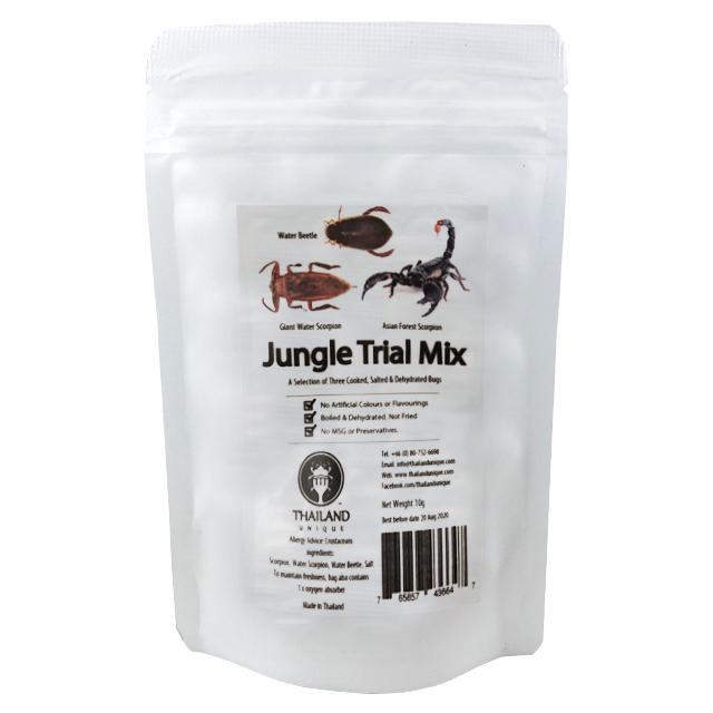 【賞味期限間近の為50%OFF】 賞味期限:2021.4.30 Jungle Trial Mix 5g(ジャングルトライアルミックス 11g)x 10袋