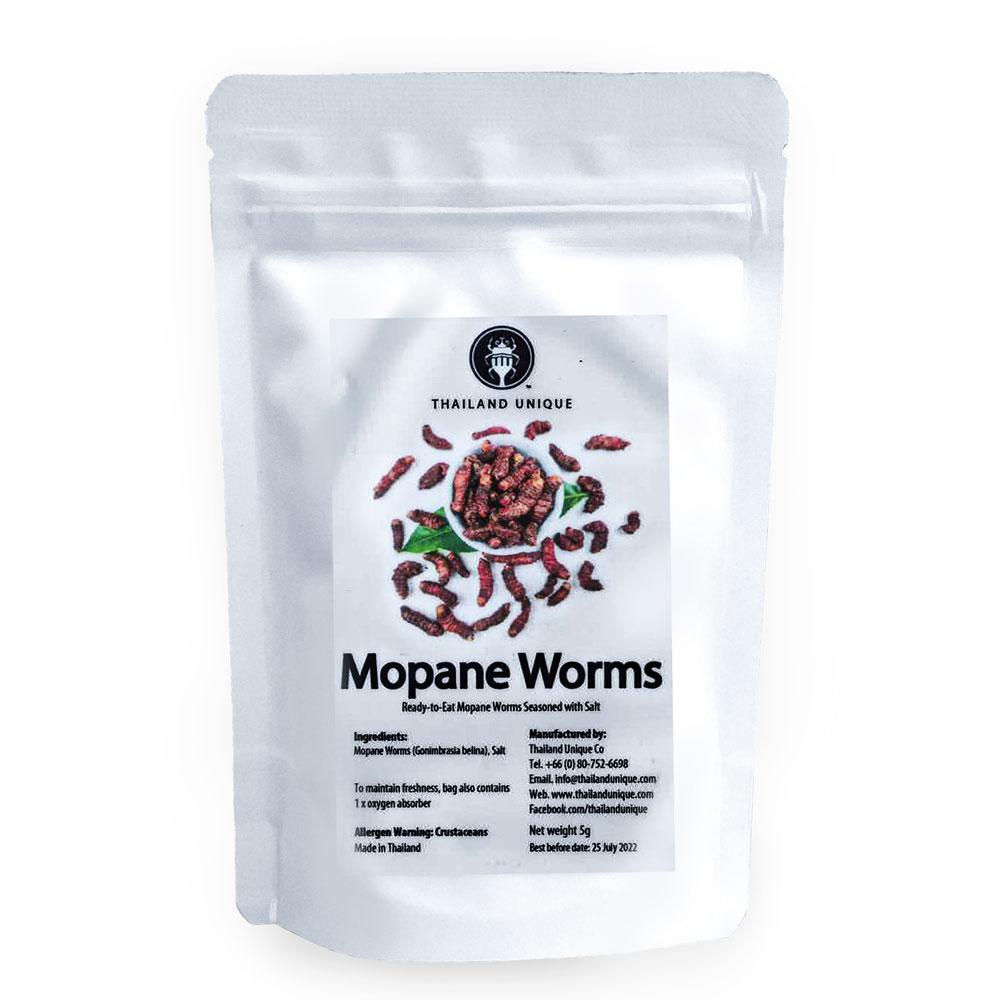 Mopane Worms 5g(モパネワーム5g) x 10袋