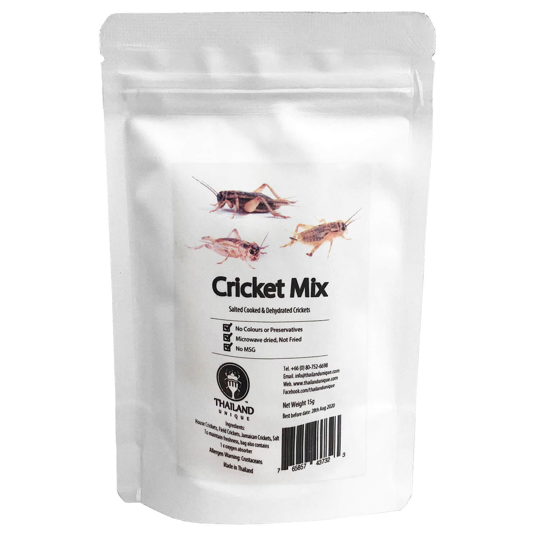 【賞味期限間近の為50%OFF】 賞味期限:2021.3.23〜4.20 Cricket Mix 15g (コオロギミックス15g)