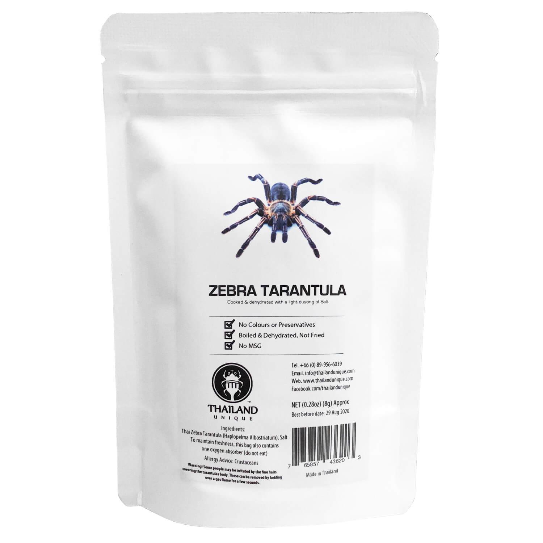 Zebra Tarantula4g(タランチュラ4g)x 10袋