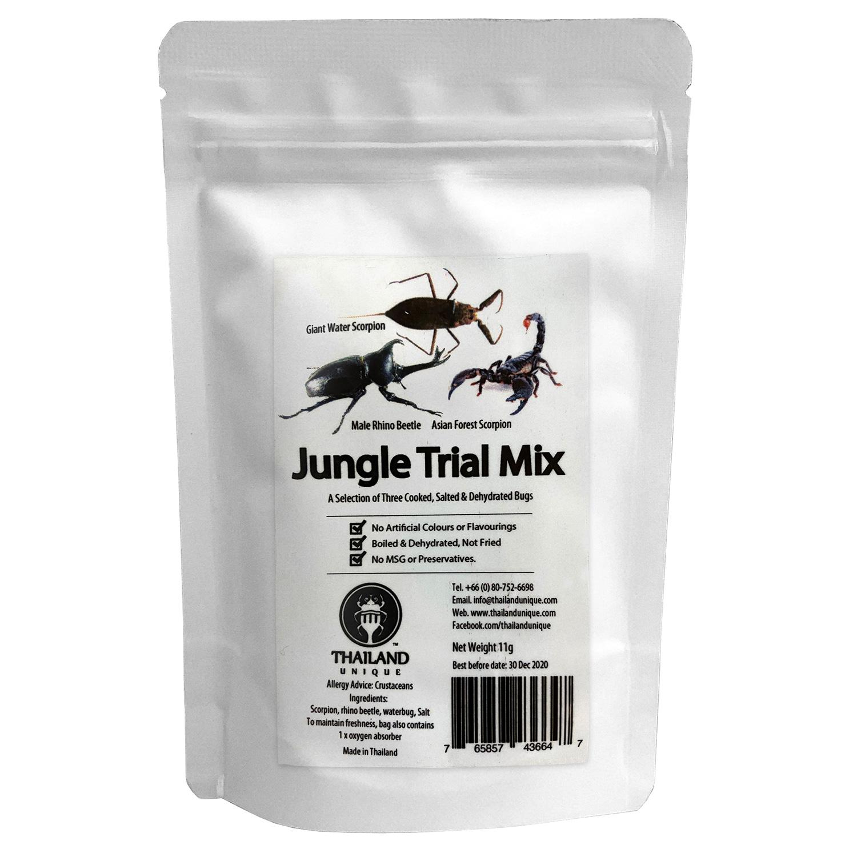 賞味期限間近の為50%OFF】 賞味期限:2021.3.17 Jungle Trial Mix3 11g(ジャングルトライアルミックス3(カブトムシ)11g)x 10袋