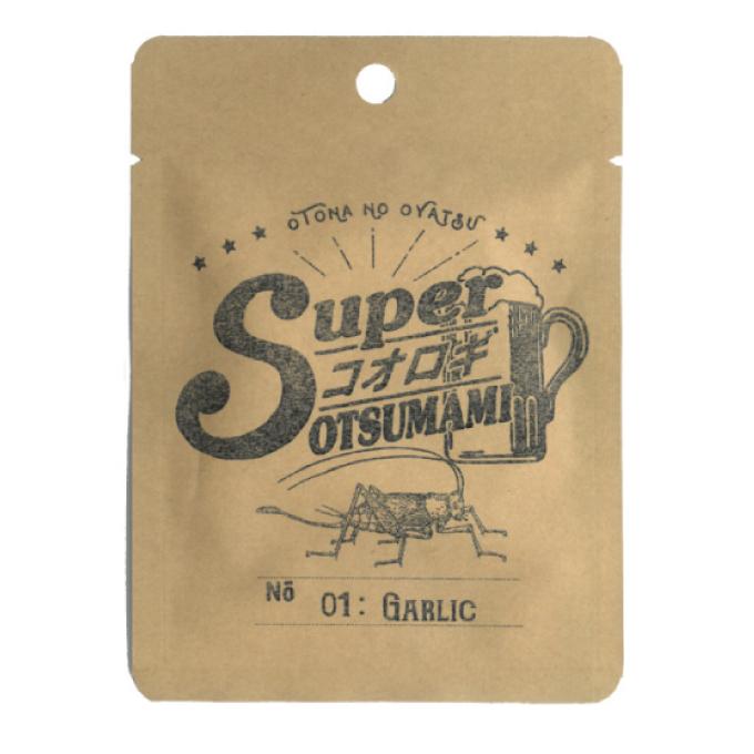 スーパーコオロギおつまみ01-ガーリック x 40袋
