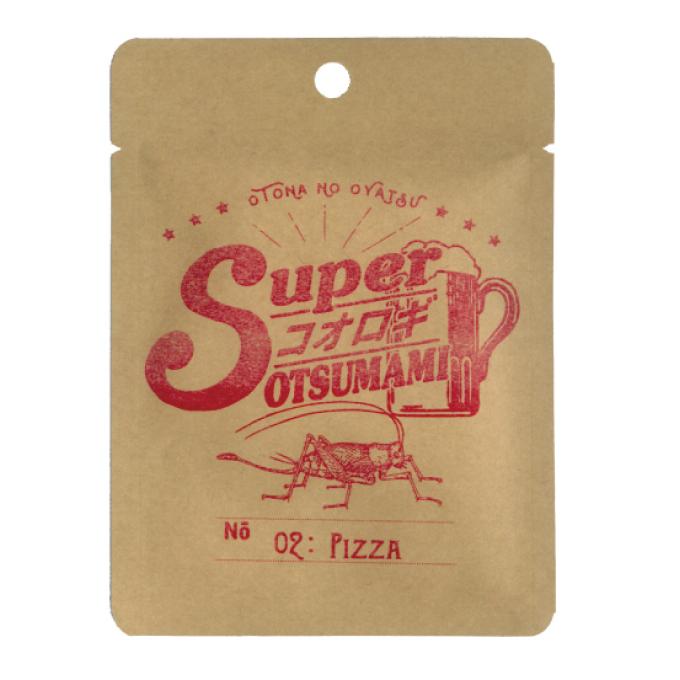 スーパーコオロギおつまみ02-ピザ x 40袋