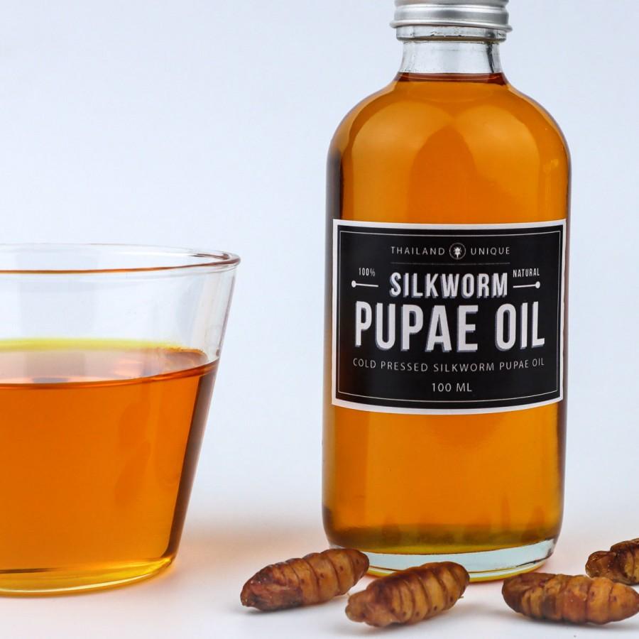100% シルクワーム オイル 100ml(Silkworm Pupae Oil)