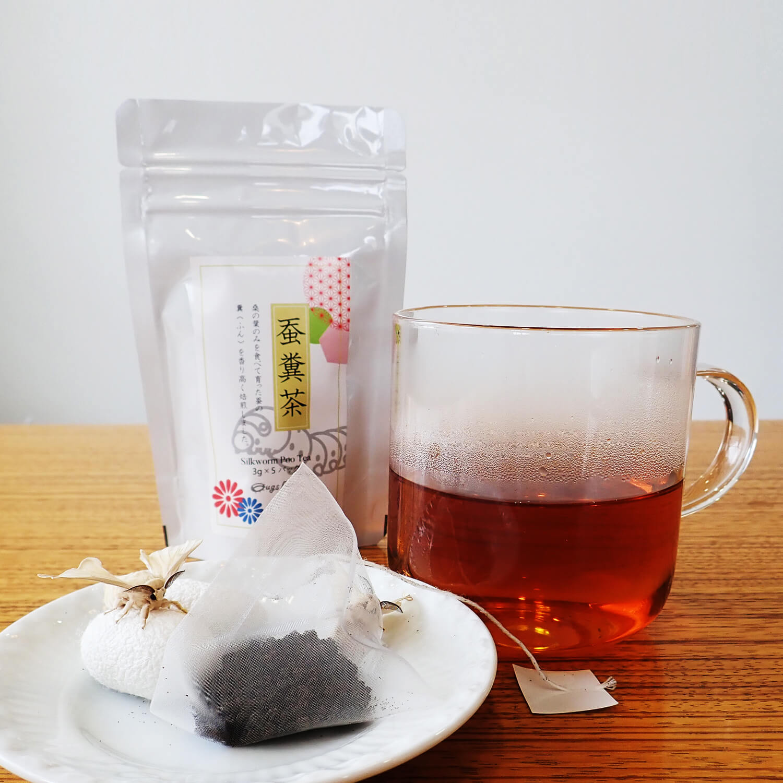 中国産 蚕糞茶 3g x 5パック(15g)