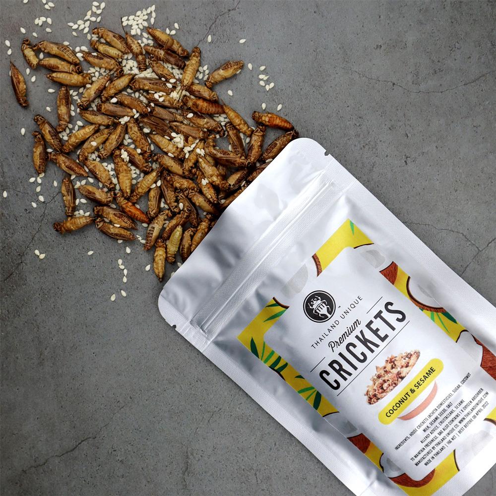 Premium CRICKETS (ココナッツ&セサミ味)15g
