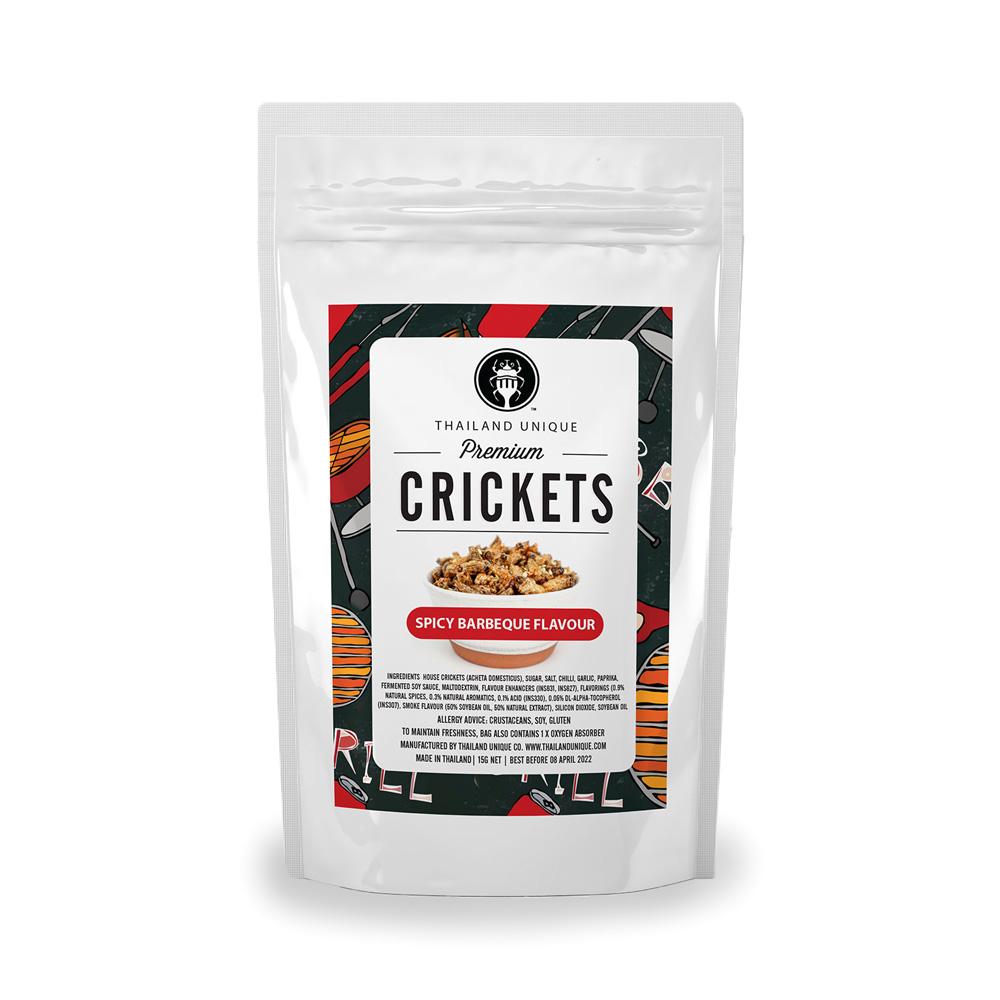 Premium CRICKETS (スパイシーBBQ味)15g