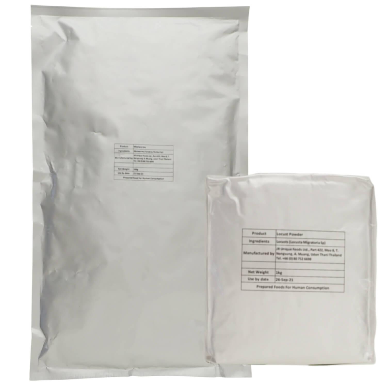 業務用サイズ Silkworm Pupae Powder 1kg  (カイコさなぎパウダー 1kg)200メッシュ