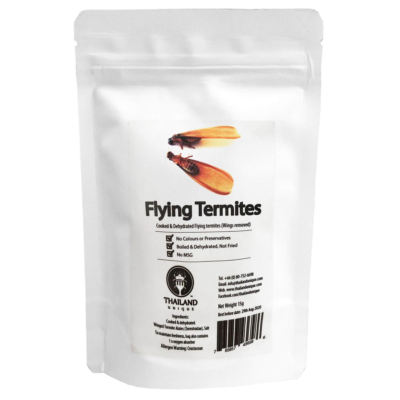 【賞味期限:2021.3.15まで!賞味期限間近の為50%OFF】Termite Alates 10g (羽白アリ10g)