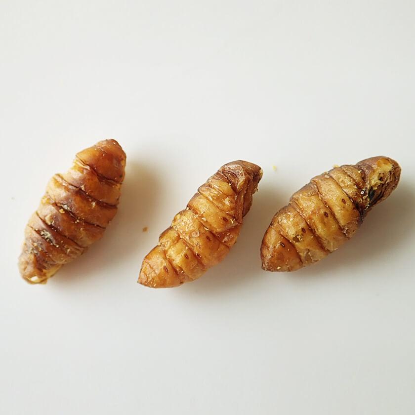 業務用サイズ Silkworm Pupae 1kg(シルクワーム 姿 ドライ 1kg)