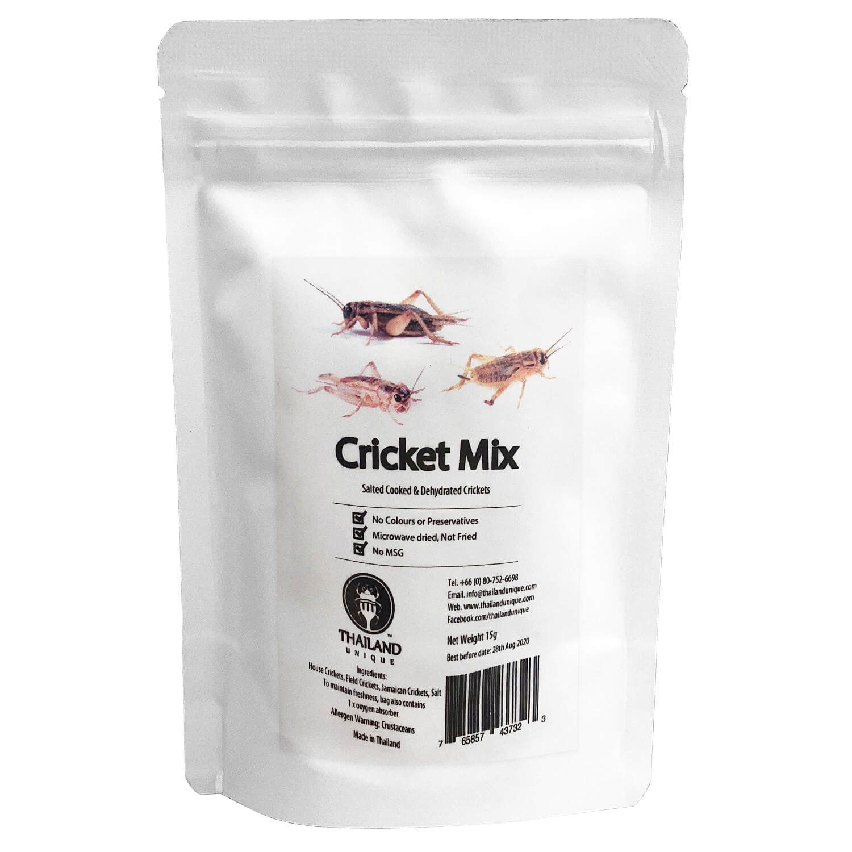 Cricket Mix 15g (コオロギミックス15g)  x  10袋