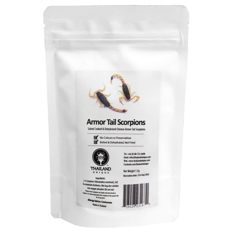 ArmorTail Scorpions(アーマーテイルスコーピオン2匹) x 10袋