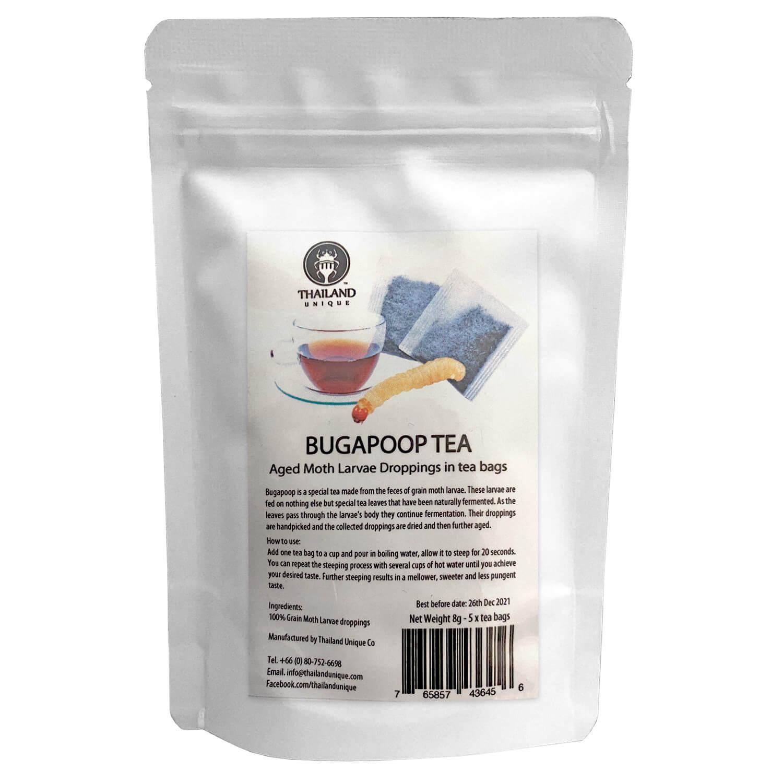 BugaPoop Tea8g-5tea bags(虫フン茶8g )x 10袋