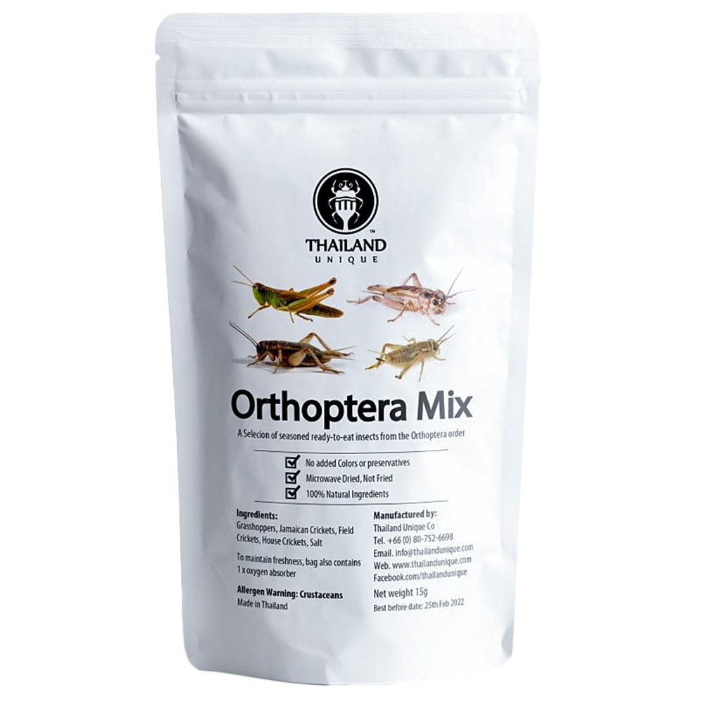 Orthoptera mix15g (バッタミックス15g) x 10袋