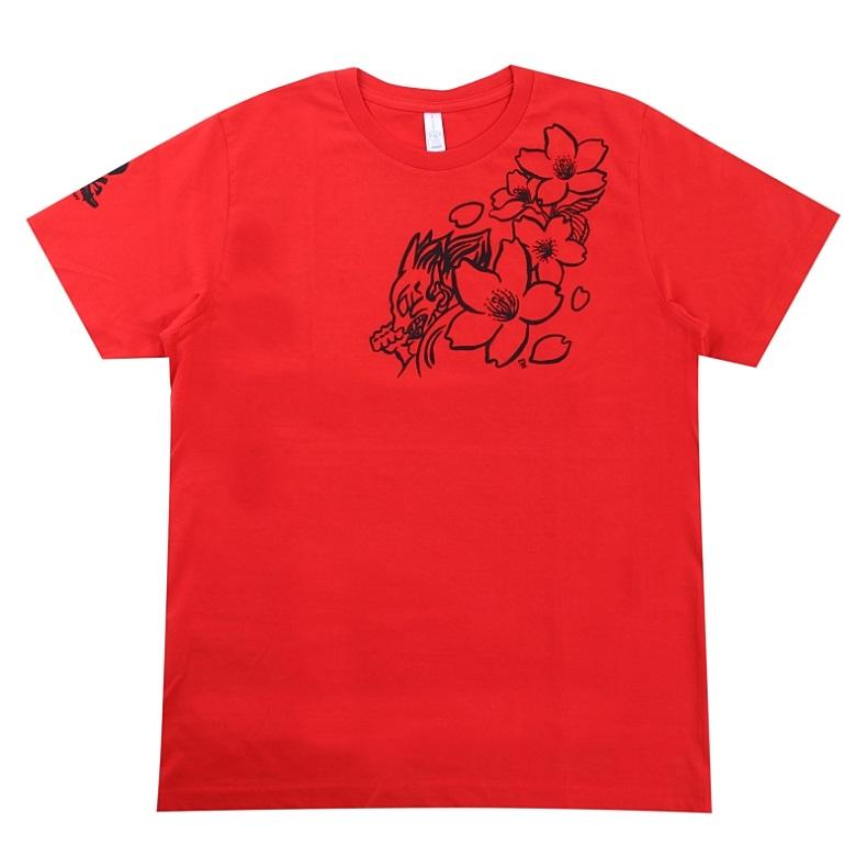 鬼神Tシャツ グラフィックTシャツ 児玉大紀モデル 処分セール 送料無料