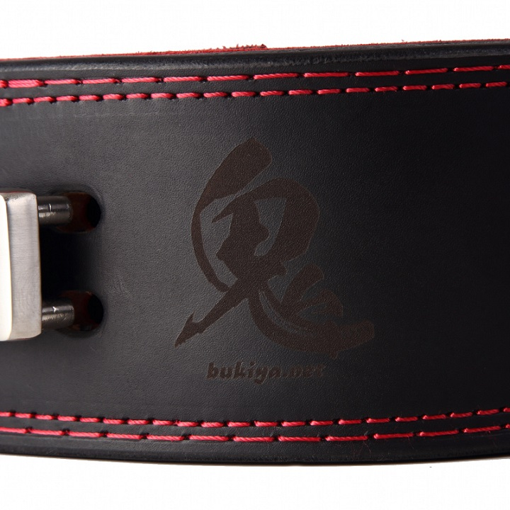 鬼レバーアクションベルト IPF公認 パワーベルト 13mm バックルは別売り 送料無料