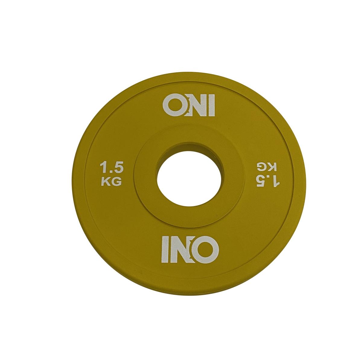 ONI チェンジプレート 5kg 2.5kg 1.25kg 0.5kg 2kg 1.5kg 1kg 2枚1セット 送料無料