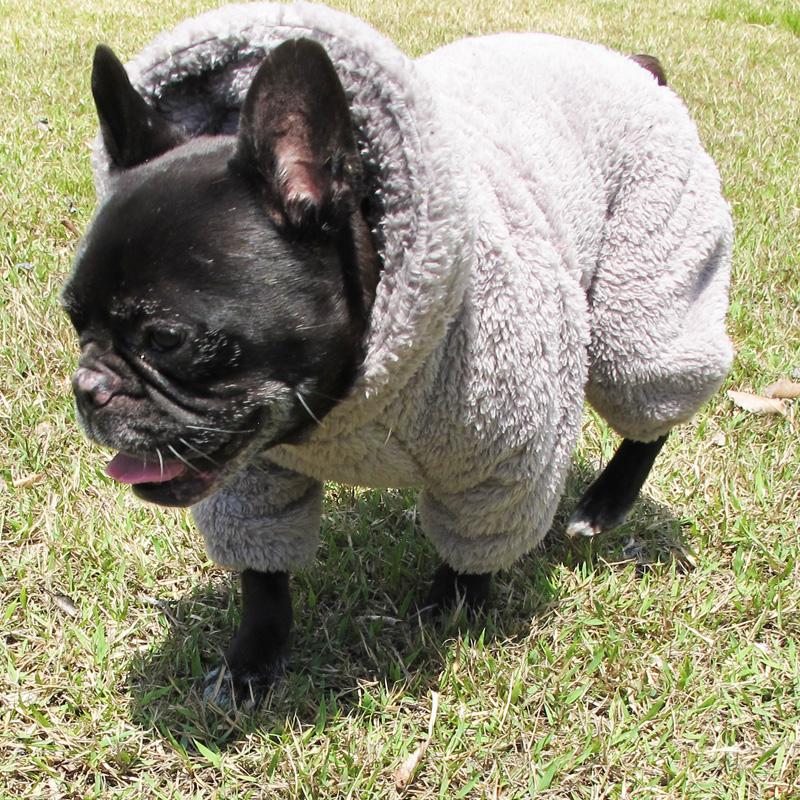 着る毛布フード付つなぎ(薄グレー)【メール便不可】