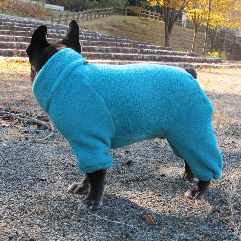着る毛布つなぎ(ブルー)【メール便不可】