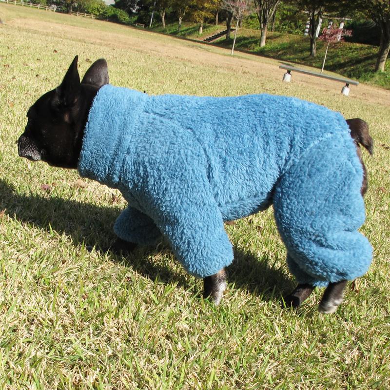 2018着る毛布つなぎ(アンティークブルー)【メール便不可】