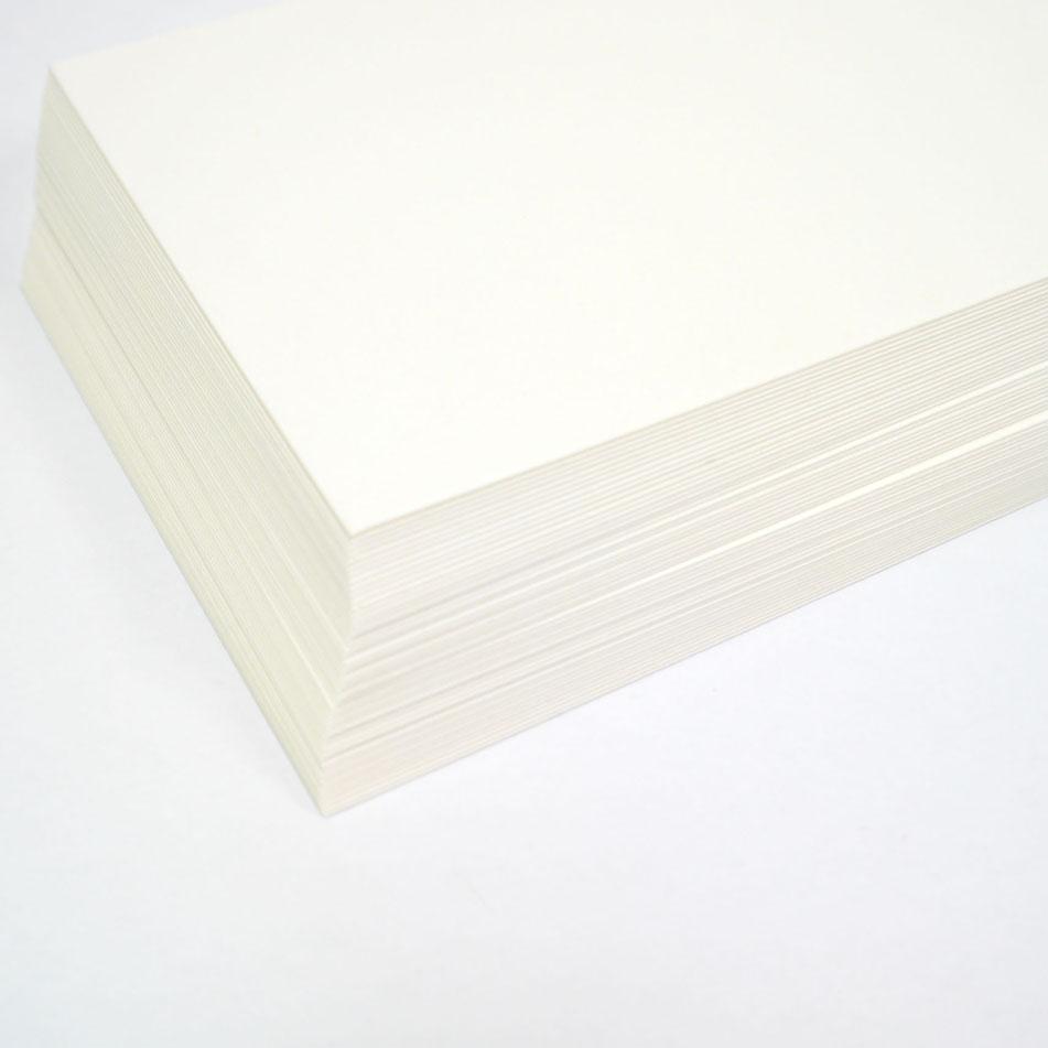 木版画用和紙はがき �42 越前鳥の子 50枚入