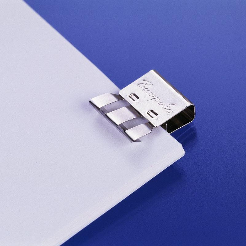 文房堂 ペーパークリップ CLIPPIES クリッピー Sサイズ シルバー 250個入