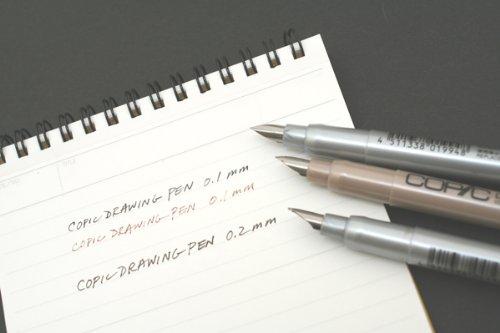 コピック ドローイングペン F01 極細 セピア