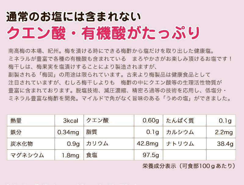 紀州 梅塩ピスタチオ110g×2<br>【全国送料無料】<br><br>梅の味はしません。でも梅の栄養そのまんま!<br>ナッツの女王ピスタチオにまろやかな<br>身体にやさしい梅酢塩がプラス。<br>歯ごたえも抜群のクエン酸、ミネラルをたっぷり含む美味しいナッツです♪