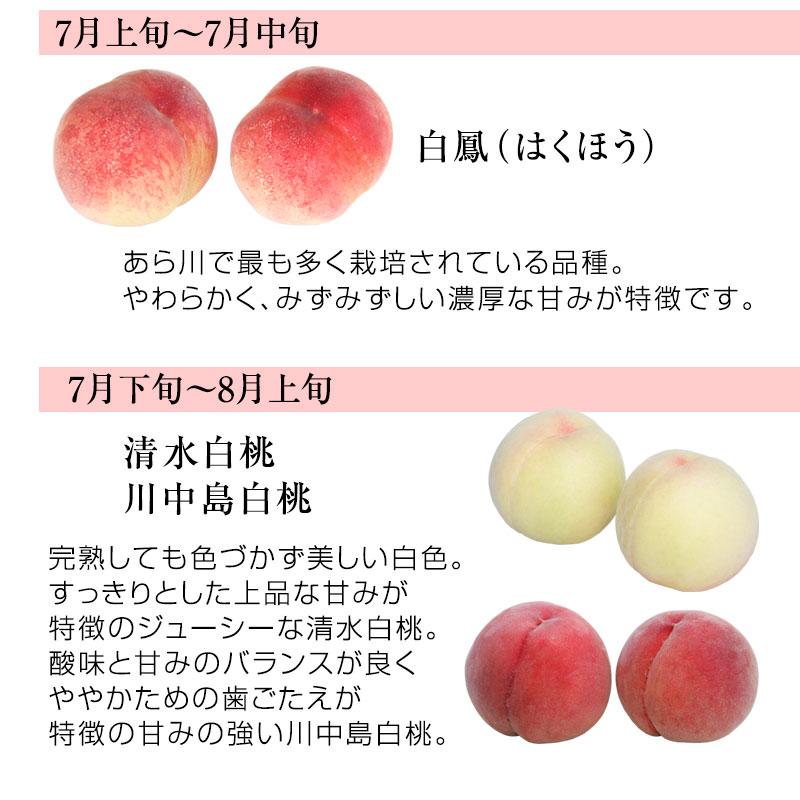 和歌山県産あら川の桃 8玉入(約2kg)<br>3Lサイズの特秀品!<br>減農薬栽培のエコファーマー認定農家がつくる土、安心安全、味覚にこだわるみずみずしく濃厚な甘みの美味しい桃を産地直送!