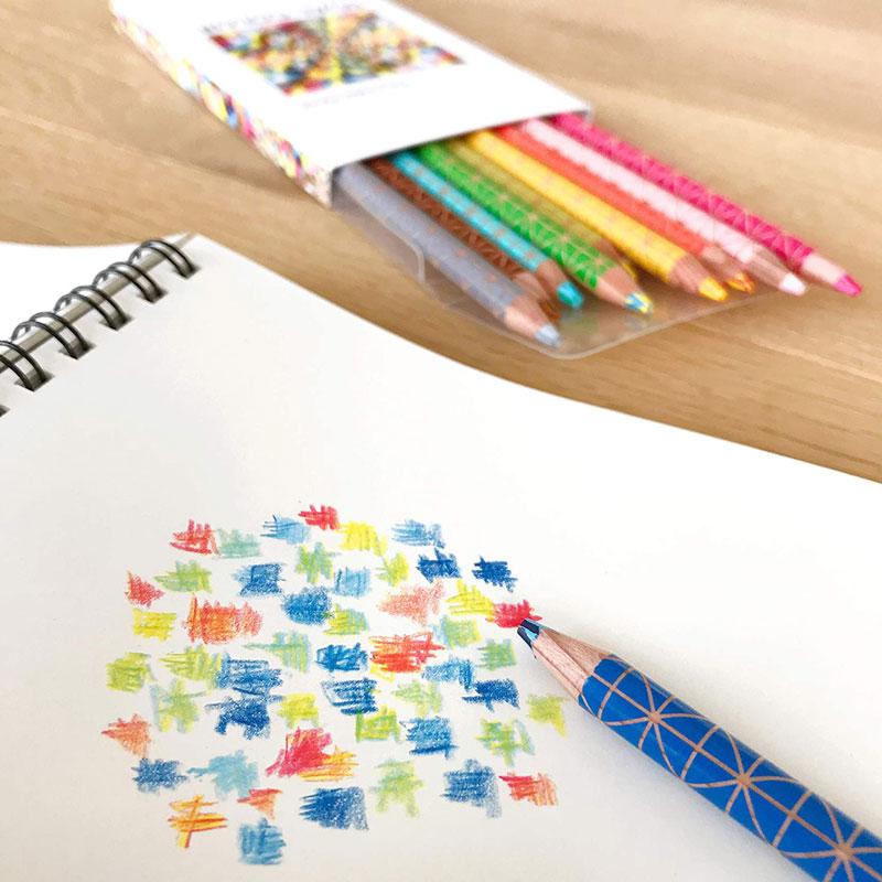 コクヨ 色鉛筆 DUAL COLOR 20色 KE-SP14 2色色鉛筆 クリエイティブ プレゼント 名入れ