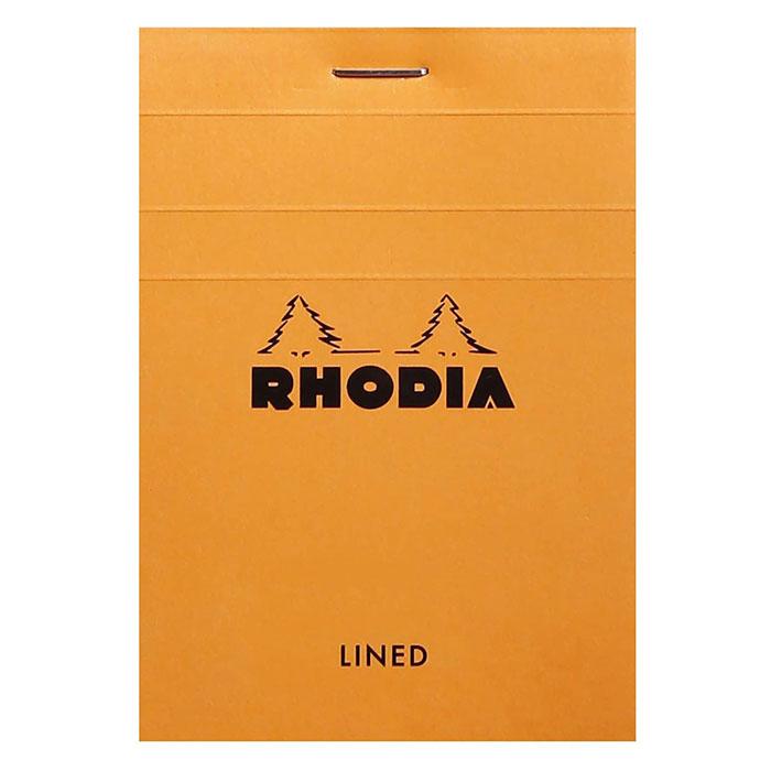 RHODIA ブロック ロディア メモ No11 横罫 cf11600 オレンジ ロングセラー