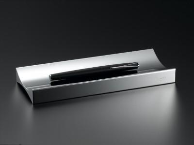 高級デスクアクセサリー 最高の品質を貴方に ステンレスを極めた PRIMARIO Lingotto インゴットペントレー PM06