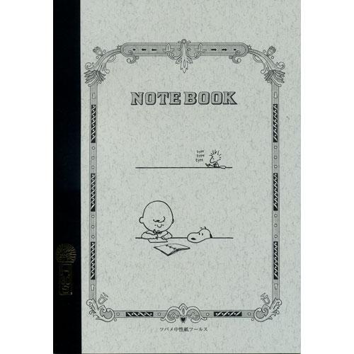昔ながらの上質な書き心地 大人のための高級アイテム ツバメノート スヌーピー A5ノート