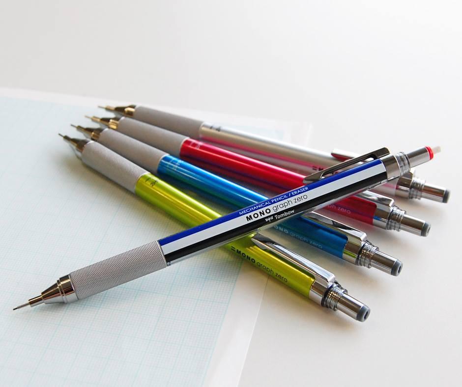 トンボ鉛筆 MONO graph zero/モノグラフゼロ 0.5 製図 2.3mm 極細MONO消しゴム シャープペンシル 精密 名入れ 卒業記念品 ノベルティ