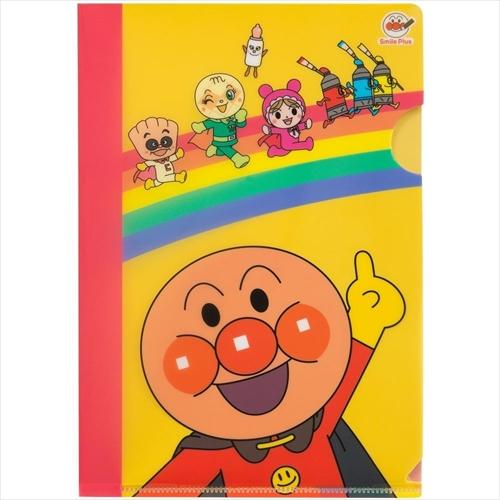 """ママの笑顔を創造する新しいブランド『アンパンマン スマイルプラス』☆ クリアファイルA5""""アンパンマン"""""""