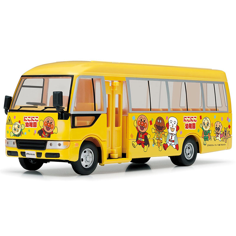 新ダイヤペットHQシリーズで登場☆ DK-4116 アンパンマンようちえんバス