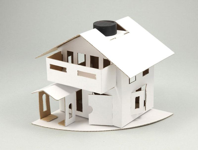 太陽光発電でライトが光る! 自分だけの家が作れちゃう! アーテック ソーラーエコハウス