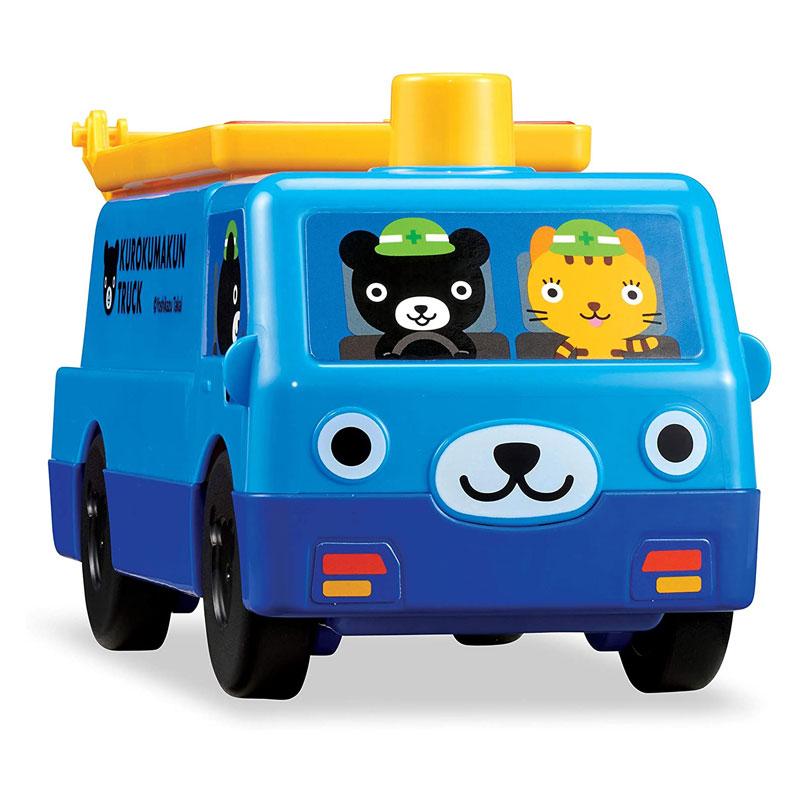 くもん出版 くろくまくんの かたちあわせトラック 知育玩具 テレワーク プレゼント