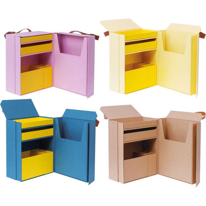 お勉強道具(&知育玩具)がたくさん収納できる子供のための収納ツール ナカバヤシ LIFESTYLE TOOL・収納カバン
