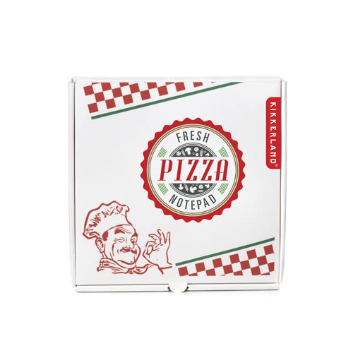 おなじみのピザのケースにメモが!? キッカーランド ピザノートパッド