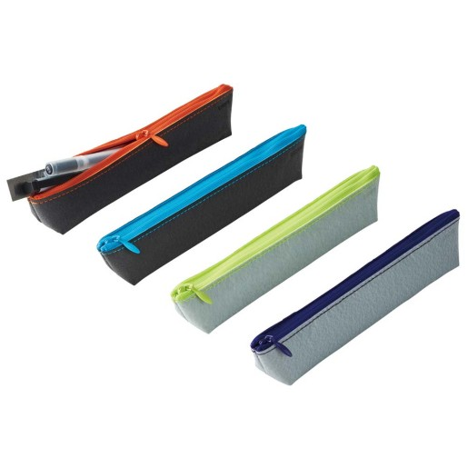 4本程度のお気に入りのペンを持ち運ぶのにちょうどいいサイズ trystrams ペンケース スリム WAPO
