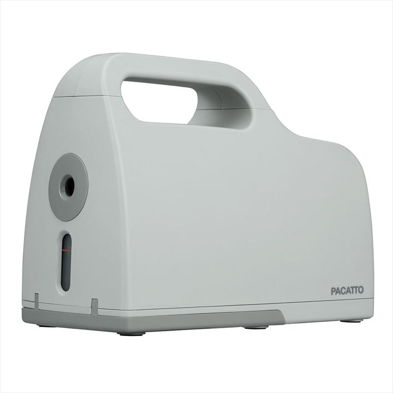 ナカバヤシ PACATTO(パカット) 削りくずを直接ゴミ箱にパカッと捨てられる机を汚さない鉛筆削り器