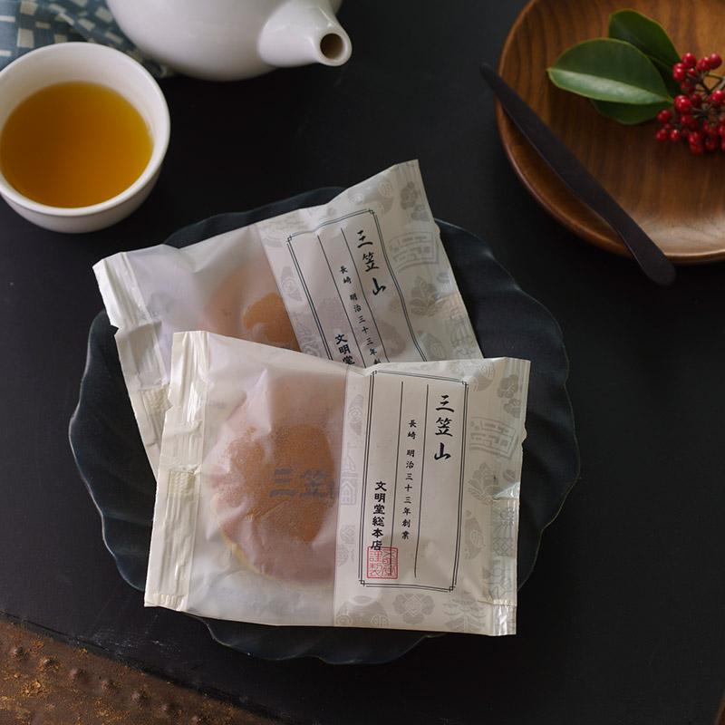 三笠山  16個入 文明堂総本店が手掛ける和菓子
