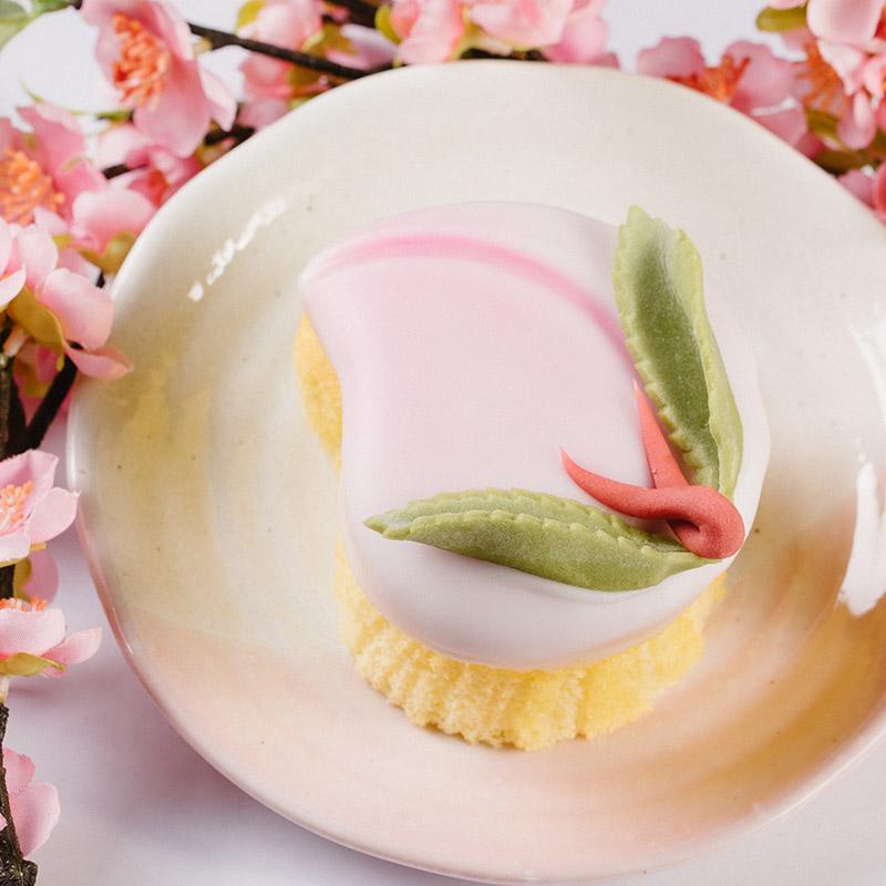 桃カステラ 小 5個入