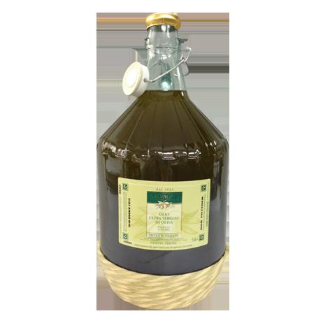 【ご予約受付中・12月~1月入荷予定】サルバーニョ  2021年ヌーボー オイル  5L瓶<br>『ノンフィルター 軽いフルーテイ』